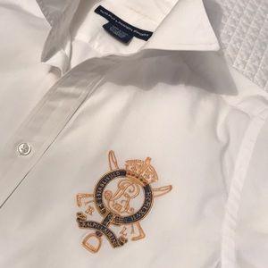 RL button down dress shirt